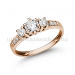 E18RB Gyémánt gyűrű