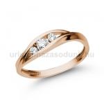 E337RB Gyémánt gyűrű