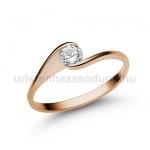 E4RB Gyémánt gyűrű