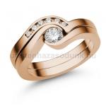 E204RC Cirkónia köves gyűrű