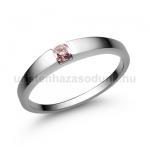 E10FZR Rózsaszín zafír gyűrű