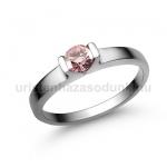 E13FZR Rózsaszín zafír gyűrű