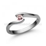 E14FZR Rózsaszín zafír gyűrű