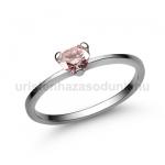 E15FZR Rózsaszín zafír gyűrű