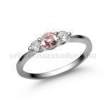 E16FZR Rózsaszín zafír gyűrű