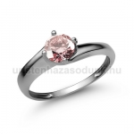E19FZR Rózsaszín zafír gyűrű