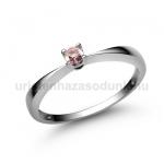 E1FZR Rózsaszín zafír gyűrű
