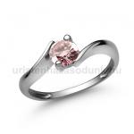 E20FZR Rózsaszín zafír gyűrű