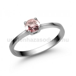 E21FZR Rózsaszín zafír gyűrű