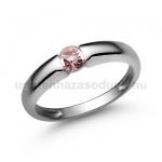E22FZR Rózsaszín zafír gyűrű