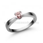 E23FZR Rózsaszín zafír gyűrű