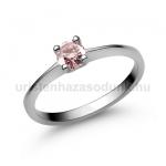 E25FZR Rózsaszín zafír gyűrű
