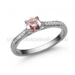E28FZR Rózsaszín zafír gyűrű