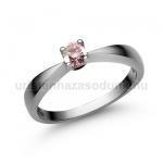 E2FZR Rózsaszín zafír gyűrű