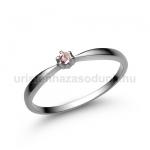 E30FZR Rózsaszín zafír gyűrű