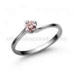 E34FZR Rózsaszín zafír gyűrű