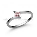 E3FZR Rózsaszín zafír gyűrű