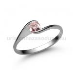 E4FZR Rózsaszín zafír gyűrű