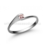 E5FZR Rózsaszín zafír gyűrű