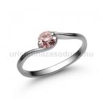 E6FZR Rózsaszín zafír gyűrű
