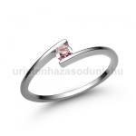 E7FZR Rózsaszín zafír gyűrű