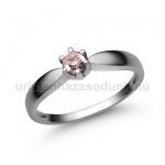 E9FZR Rózsaszín zafír gyűrű