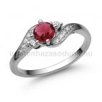 E107FR Rubin gyűrű