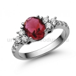 E117FR Rubin gyűrű
