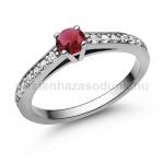 E118FR Rubin gyűrű