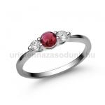 E16FR Rubin gyűrű