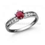 E17FR Rubin gyűrű