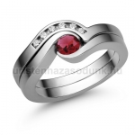 E204FR Rubin gyűrű