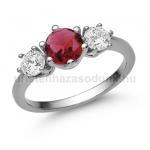 E205FR Rubin gyűrű