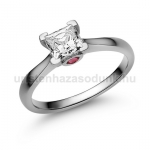 E206FR Rubin gyűrű