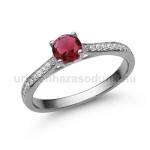 E28FR Rubin gyűrű