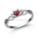 E301FR Rubin gyűrű
