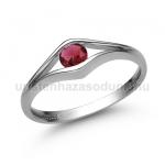 E302FR Rubin gyűrű