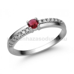 E311FR Rubin gyűrű