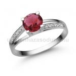 E317FR Rubin gyűrű