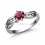 E318FR Rubin gyűrű