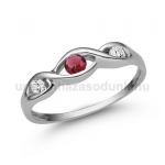 E336FR Rubin gyűrű