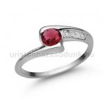 E349FR Rubin gyűrű