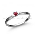 E8FR Rubin gyűrű