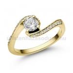 E103SB Gyémánt gyűrű