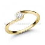 E106SB Gyémánt gyűrű
