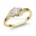 E107SB Gyémánt gyűrű
