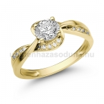 E108SB Gyémánt gyűrű