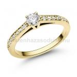 E118SB Gyémánt gyűrű