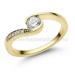 E119SB Gyémánt gyűrű