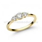 E16SB Gyémánt gyűrű